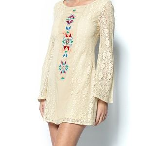 Flying tomato lace tribal dress